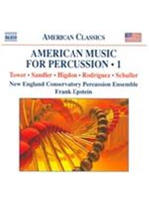 American Music for Percussion, Vol. 1 (Music CD)
