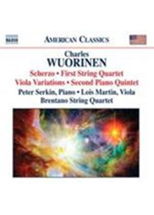 Wuorinen: Piano Quintet No 2; Scherzo; Viola Variations (Music CD)