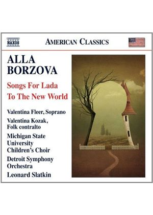 Alla Borzova: Songs for Lada; To the New World (Music CD)
