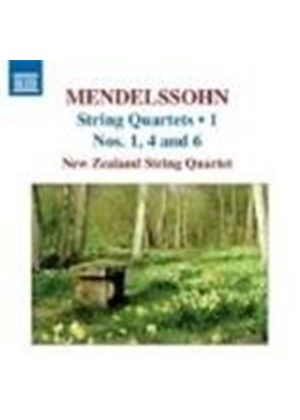 Mendelssohn: Quartets, Vol 1