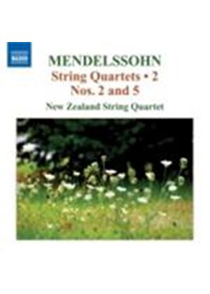 Mendelssohn: String Quartets Vol. 2 (Music CD)