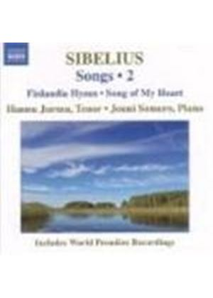 Jean Sibelius - Songs Vol. 2 (Jurmu, Somero) (Music CD)