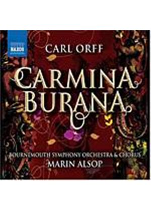 Carl Orff - Carmina Burana (Alsop, Bournemouth SO, Rutter) (Music CD)