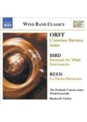 Orff; Bird; Reed: Wind Band Music