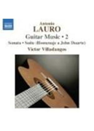 Antonio Lauro - Guitar Music Vol. 2 (Villadangos) (Music CD)