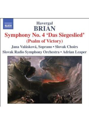 Havergal Brian - Symphonies Nos. 4 And 12 (Leaper, Slovak RSO) (Music CD)