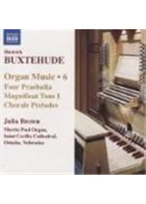 Dietrich Buxtehude - Organ Music Vol. 6 (Brown) (Music CD)