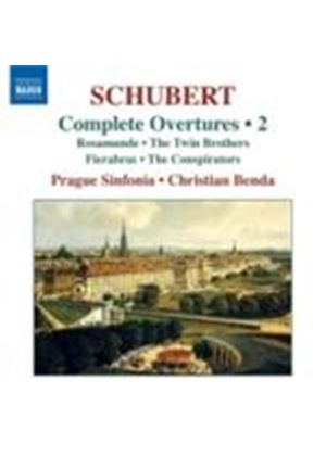 Schubert: Overtures Vol. 2 (Music CD)