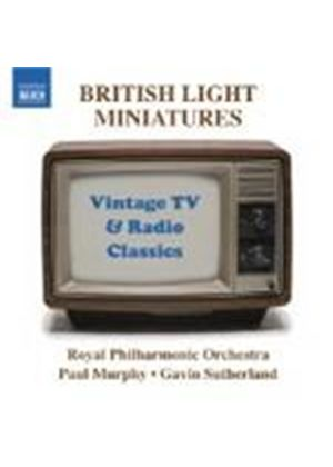 Various Composers - British Light Miniatures (Sutherland, Murphy, RPO) (Music CD)