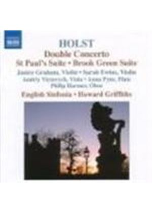 Gustav Holst - Double Concerto (Griffiths, English Sinfonia) (Music CD)