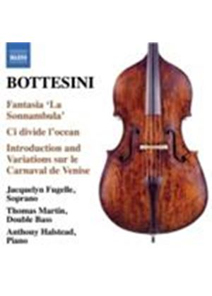 Bottesini: Fantasia La Sonnambula (Music CD)
