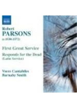 Robert Parsons - First Great Service, Responds For The Dead (Smith) (Music CD)