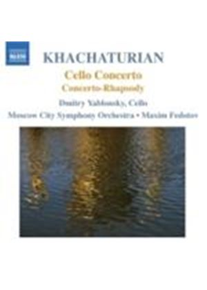 Khachaturian: Cello Concerto; Concerto-Rhapsody (Music CD)