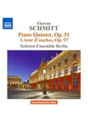 Florent Schmitt: Piano Quintet, Op. 51; � tour d'anches, Op. 97 (Music CD)