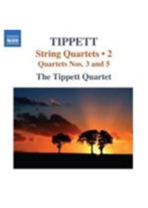 Tippett: String Quartets Nos 3 and 5 (Music CD)
