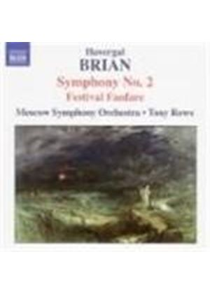 Havergal Brian - Symphony No. 2, Festival Fanfare (Rowe, Moscow SO) (Music CD)