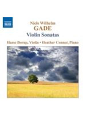 Gade: Violin Sonatas Nos 1 - 3 (Music CD)