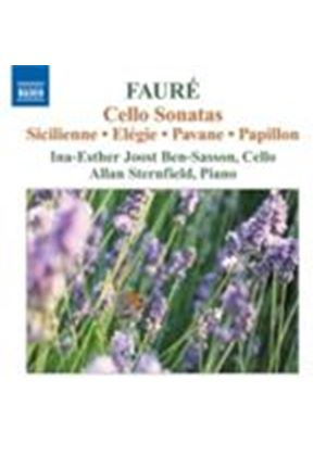 Fauré: Cello Sonatas (Music CD)