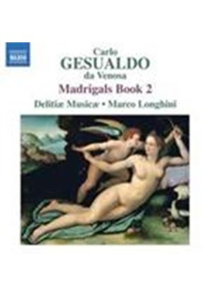 Gesualdo: Madrigals, Book 2 (Music CD)