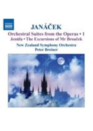 Janácek: Orchestral Suites from the Operas No 1 (Music CD)