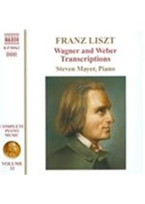 Liszt: Wagner and Weber Transcriptions (Music CD)