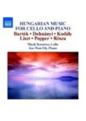 Hungarian Cello Works