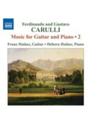Carulli: Guitar and Piano Works Vol. 2 (Music CD)