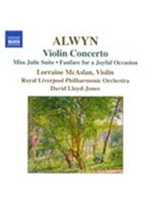 Alwyn: Violin Concerto (Music CD)