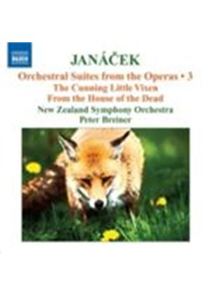 Janacek: Suites from Operas Vol. 3 (Music CD)