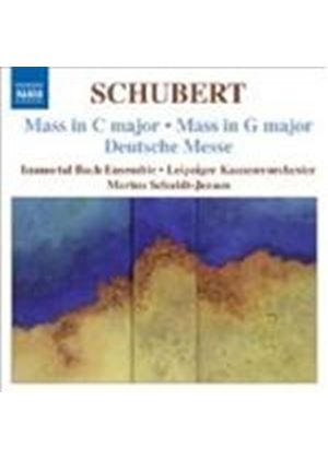 Schubert: Masses in C & G (Music CD)