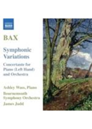 Bax: Symphonic Variations (Music CD)