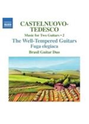 Castelnuovo-Tedesco: Music for Two Guitars, Vol 2 (Music CD)