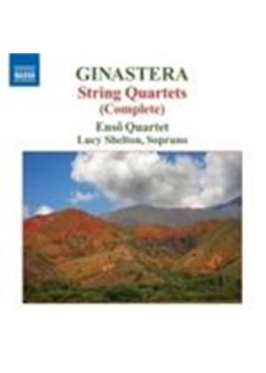 Ginastera: Complete String Quartets (Music CD)