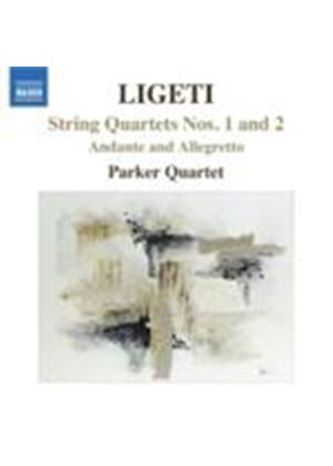 Ligeti: String Quartets Nos 1 and 2 (Music CD)