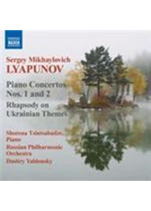 Lyapunov: Piano Concertos Nos 1 & 2 (Music CD)