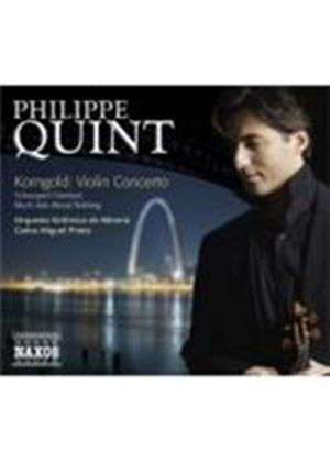 Korngold: Violin Concerto; Much Ado About Nothing suite (Music CD)