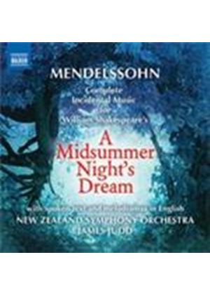 Mendelssohn: (A) Midsummer Night's Dream (Music CD)