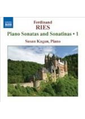 Ferdinand Ries - Piano Sonatas And Sonatinas 1 (Kagan)