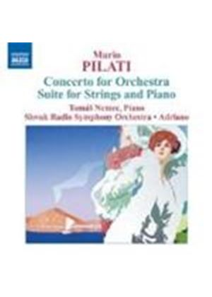 Mario Pilati - Concerto For Orchestra (Adriano, Slovak Radio SO)