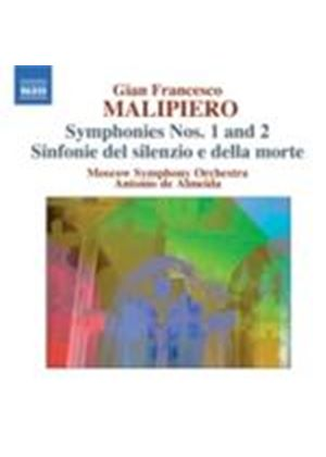 Malipiero: Symphonies Vol. 2 (Music CD)