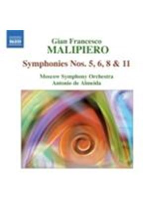 Malipiero: Symphonies, Vol 3 (Music CD)