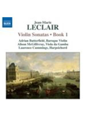 Leclair: Violin Sonatas Vol. 1 (Music CD)