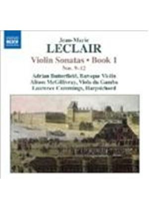 Leclair: Violin Sonatas Book 1 (Music CD)
