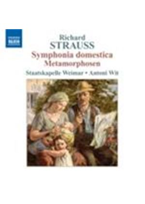 Strauss, R: Symphonia domestica; Metamorphosen (Music CD)