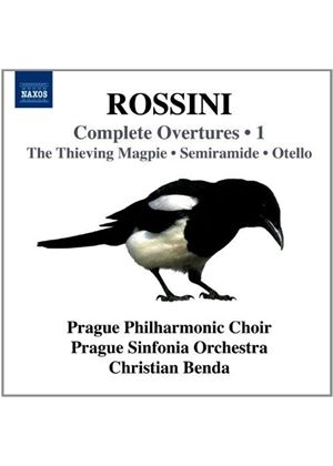 Rossini: Complete Overtures, Vol. 1 (Music CD)