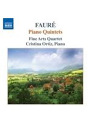 Fauré: Piano Quintets (Music CD)