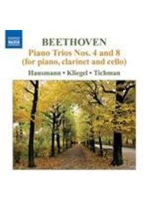 Beethoven: Piano Trios No.4 & 8 (for Piano, Clarinet and Cello) (Music CD)