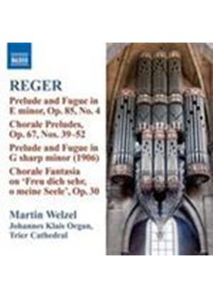 Reger: Organ Works Vol 10 (Music CD)