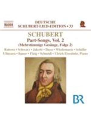 Schubert: Part Songs (Music CD)