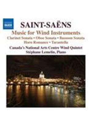 Saint-Saëns: Wind Chamber Works (Music CD)